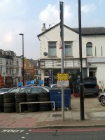 Tyre shop at 339 Norwood Road