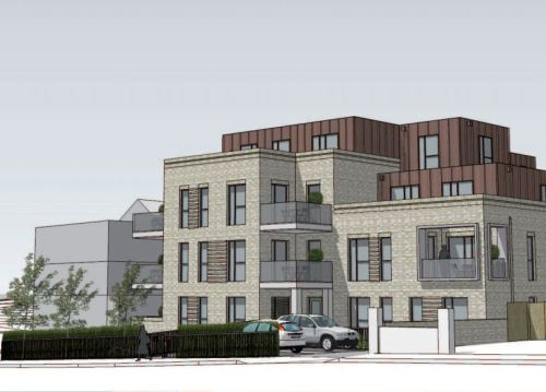 Proposed new homes