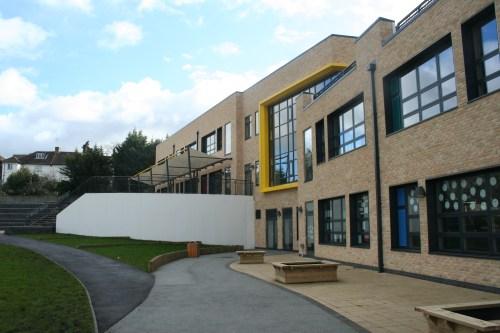 The new  Julian's school