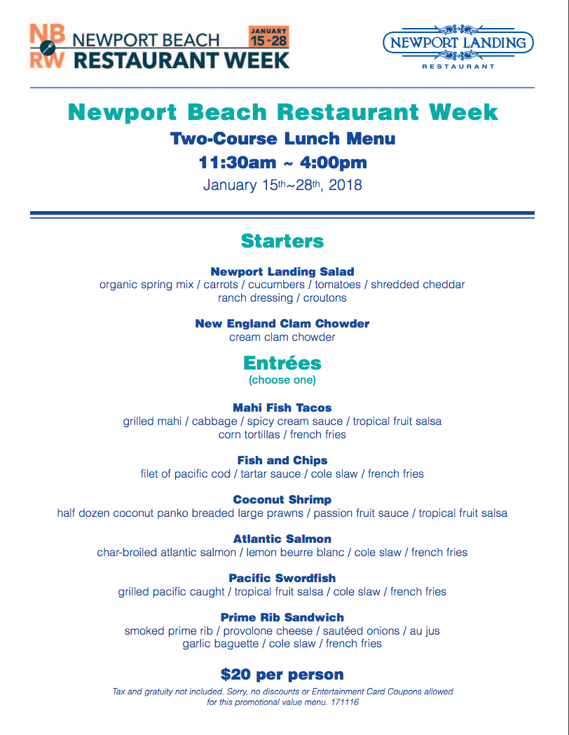 Newport Landing Newport Beach