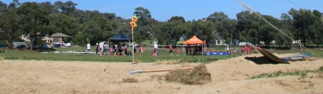 A typical day at Chapman oval