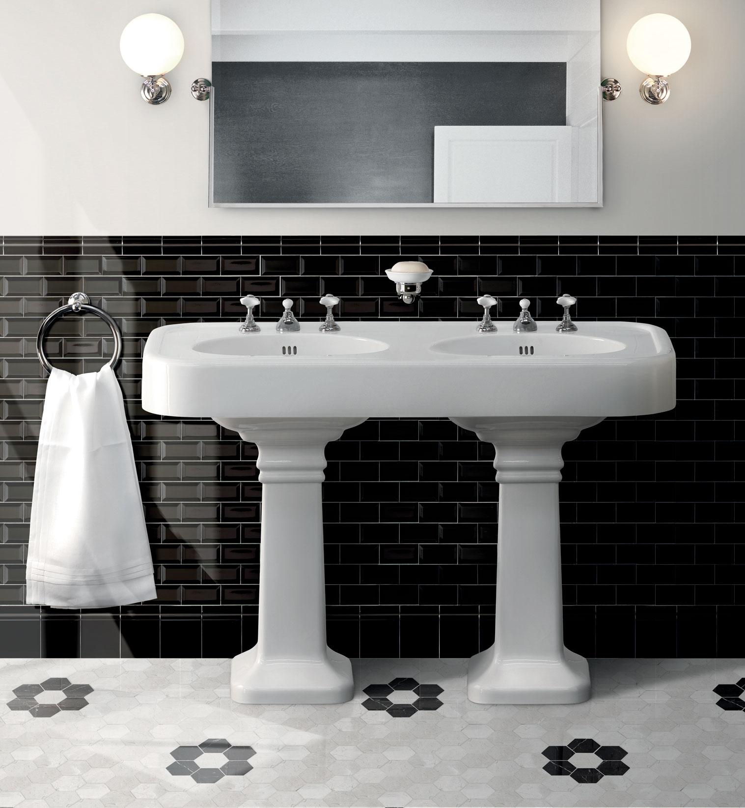 brooklyn double pedestal basins wall