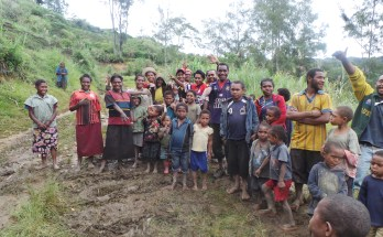 The Development of Internet Networking in Some Areas in West Papua