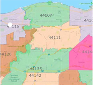 44135 Zip Code Map.Pay Bill Ads The West Park Times