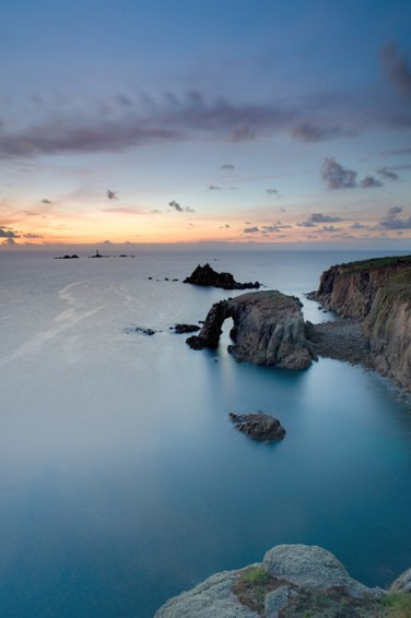 a sunday sunset at land's end