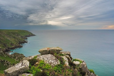 View from Trevean Cliff