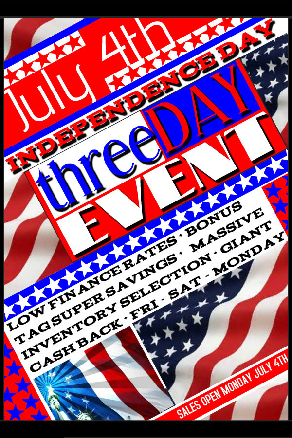 4th of July Event at Ron Westphal Chevy