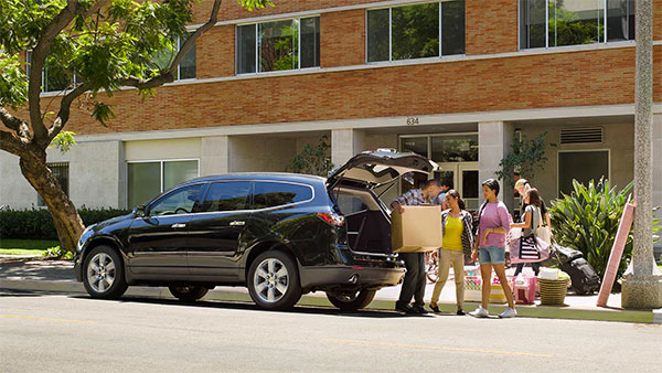 Traverse is one of the most popular used vehicles in Aurora, IL