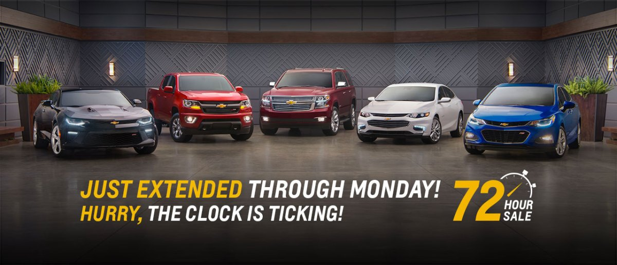 0% x 72 Extended to 9-12-16. Visit Ron Westphal Chevy today!