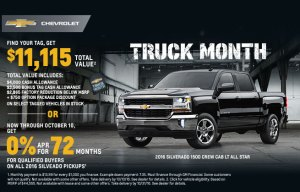 Westphal Chevy Truck Month