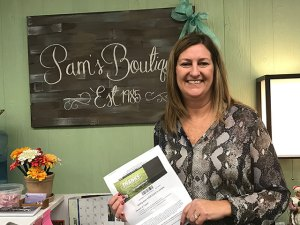Pam Weaver Wins Ron Westphal Chevrolet Facebook Contest