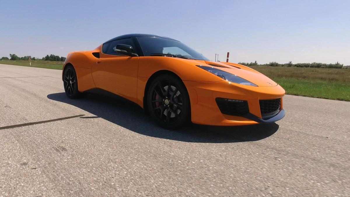 This 450-hp electric Lotus Evora is powered by Tesla and Chevrolet