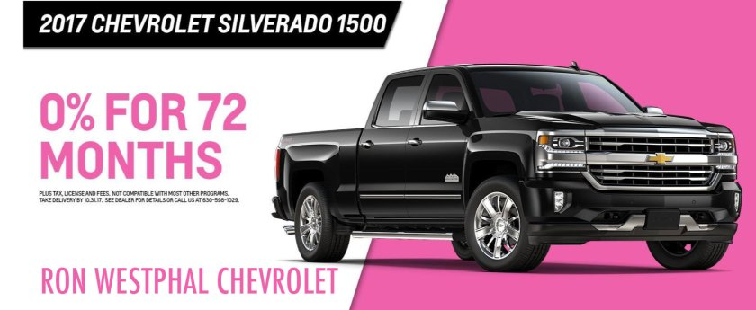 Chevrolet October Incentives