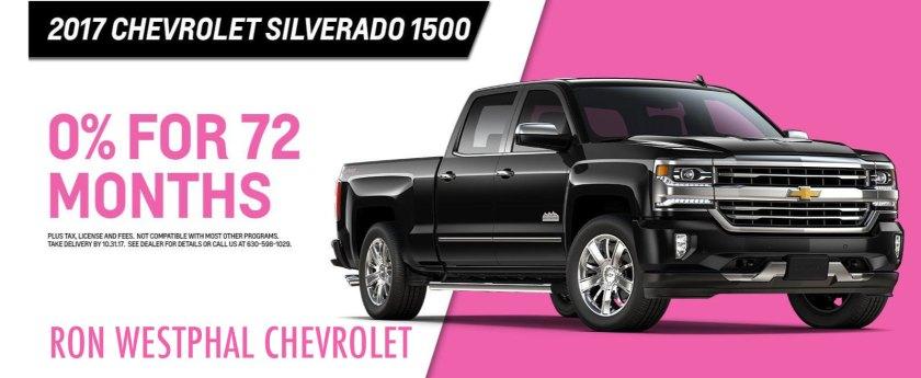 Chevrolet October Incentives