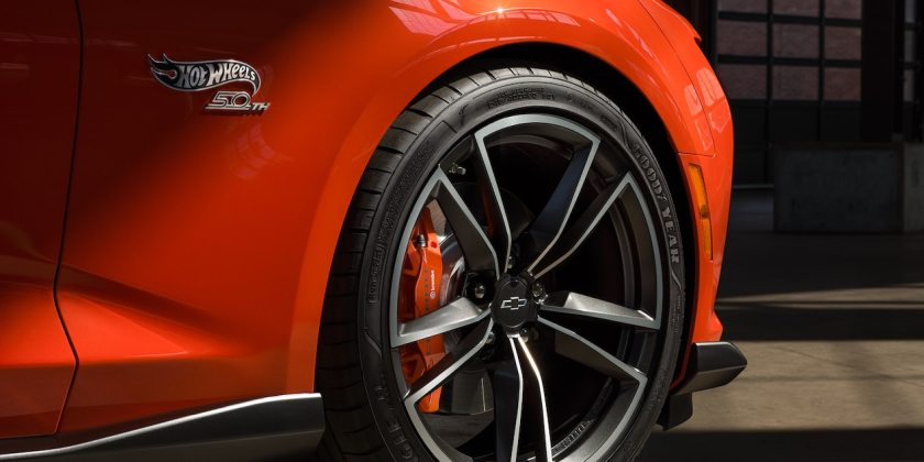 camaro hot wheels edition wheel