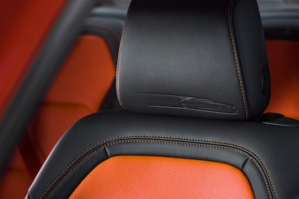 camaro hot wheels edition interior closeup