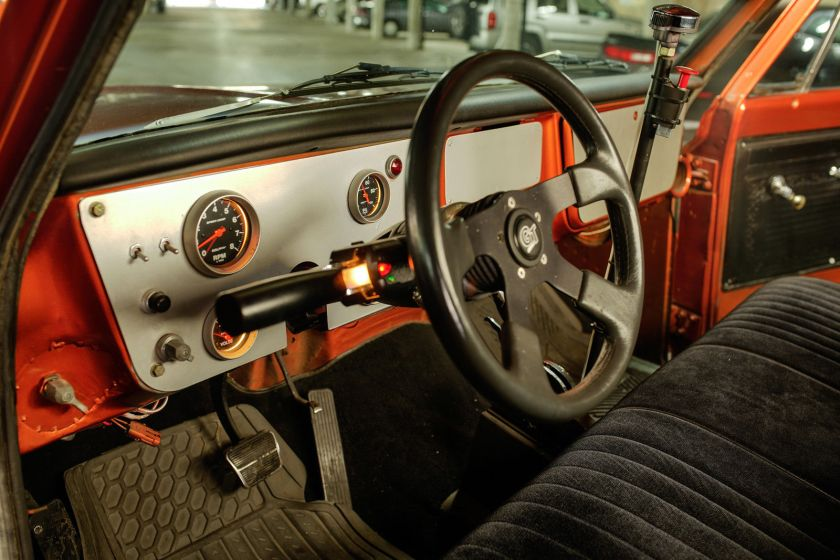 Chevrolet C-10 from Fast & Furious interior