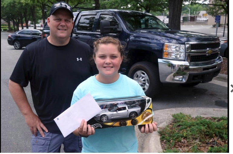 This Alamance 4th-grader wrote to Chevrolet's CEO and got a big surprise