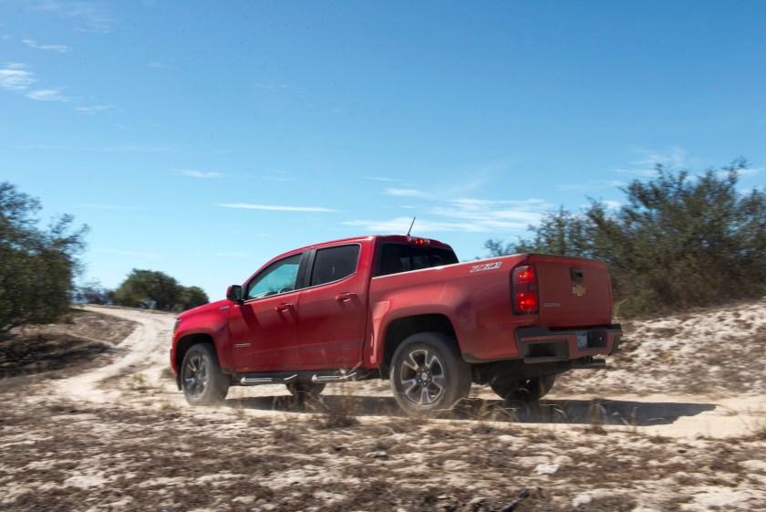 2018 Chevrolet Colorado rear view