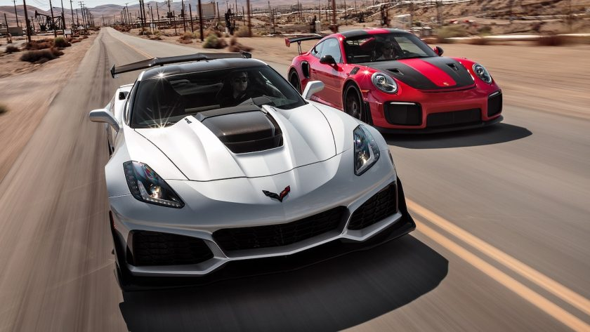 2019 Chevrolet Corvette ZR1 vs. 2018 Porsche 911 GT2 RS Comparison