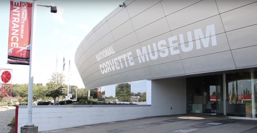 national corvette museum picture