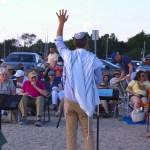 PHOTO GALLERY: Shabbat Service Draws Crowd to Compo Beach