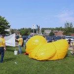Rotary Readying for Online Duck Race