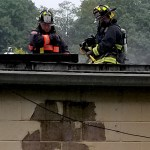 Firefighters Douse Roof Fire at Post Road West Mall