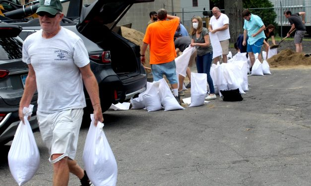 From Sandbags to Shrugs, A Range of Reactions as Westport Waits for Henri