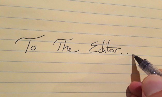 Letters to the Editor …
