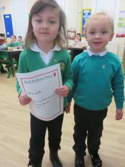Nursery learning to vote!