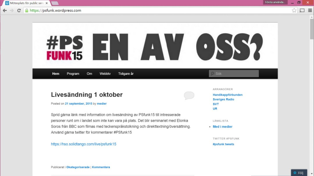 Screen dump from psfunk.wordpress.com