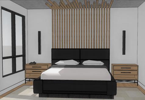 399 Wildwood Dr - Master Bedroom