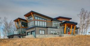 Custom built home in Silverhorn, Bearspaw by West Ridge Fine Homes