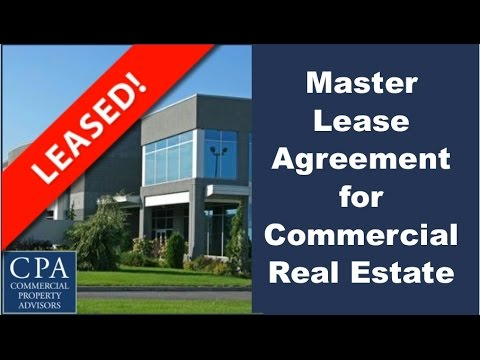 Master Lease Agreement For Commercial Real Estate Westshore