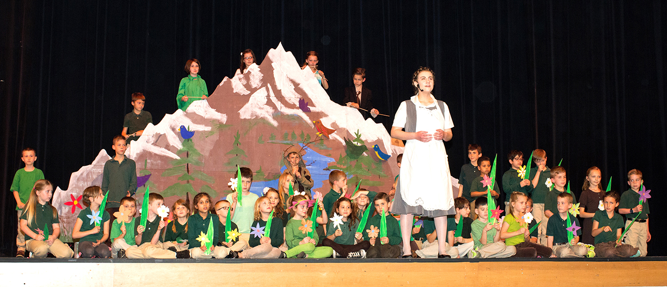 Sound of Music Spring Production