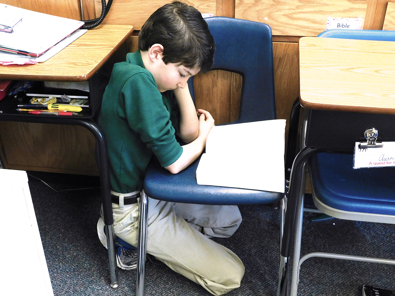 Fifth Grade - DEAR Day - Drop Everything And Read Day!