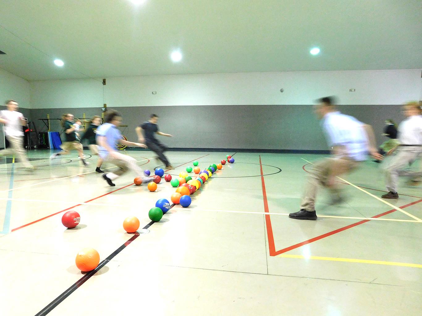 Upper School Dodge Ball Game