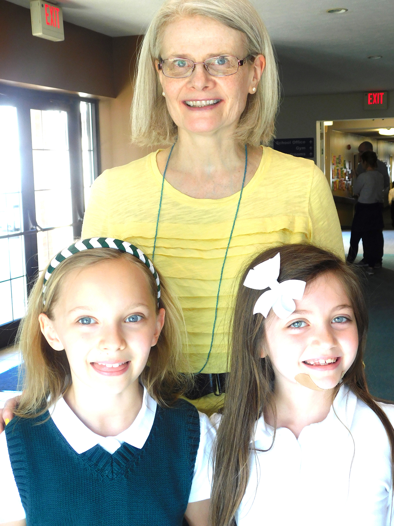 Second Graders with Ms. MacLeod