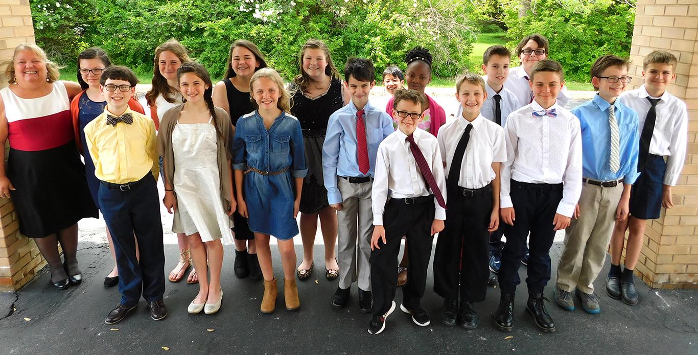 Sixth Grade Graduation