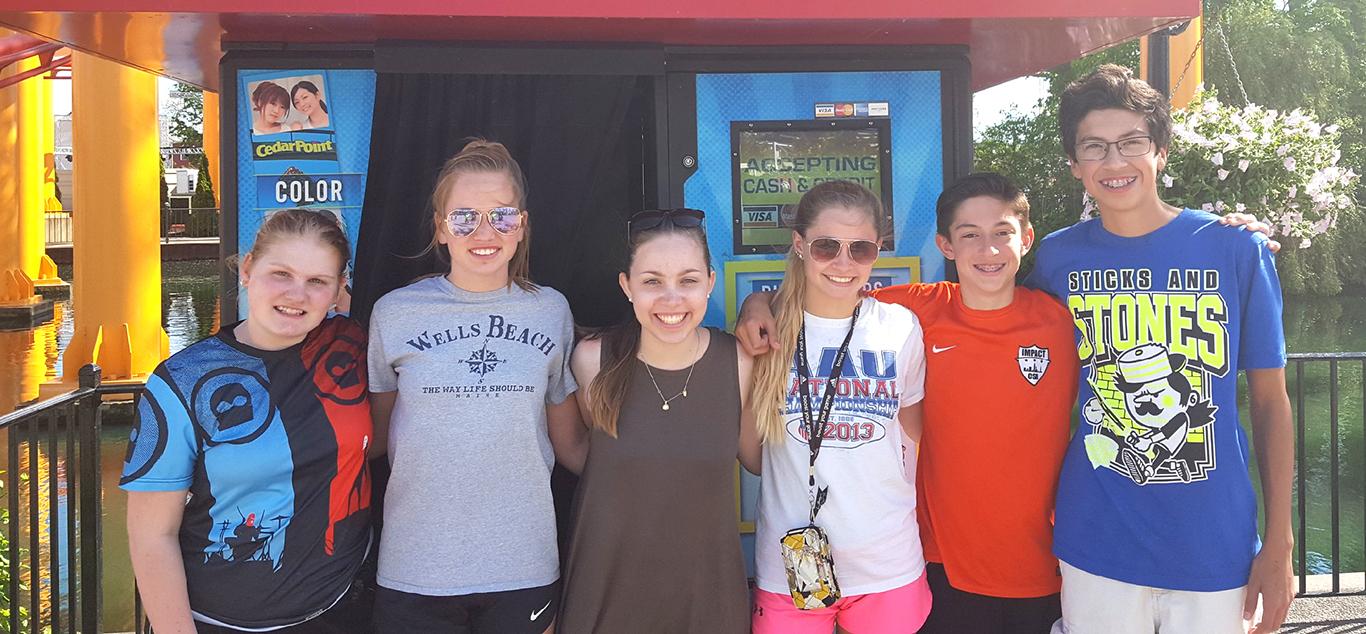 Upper School Cedar Point Trip