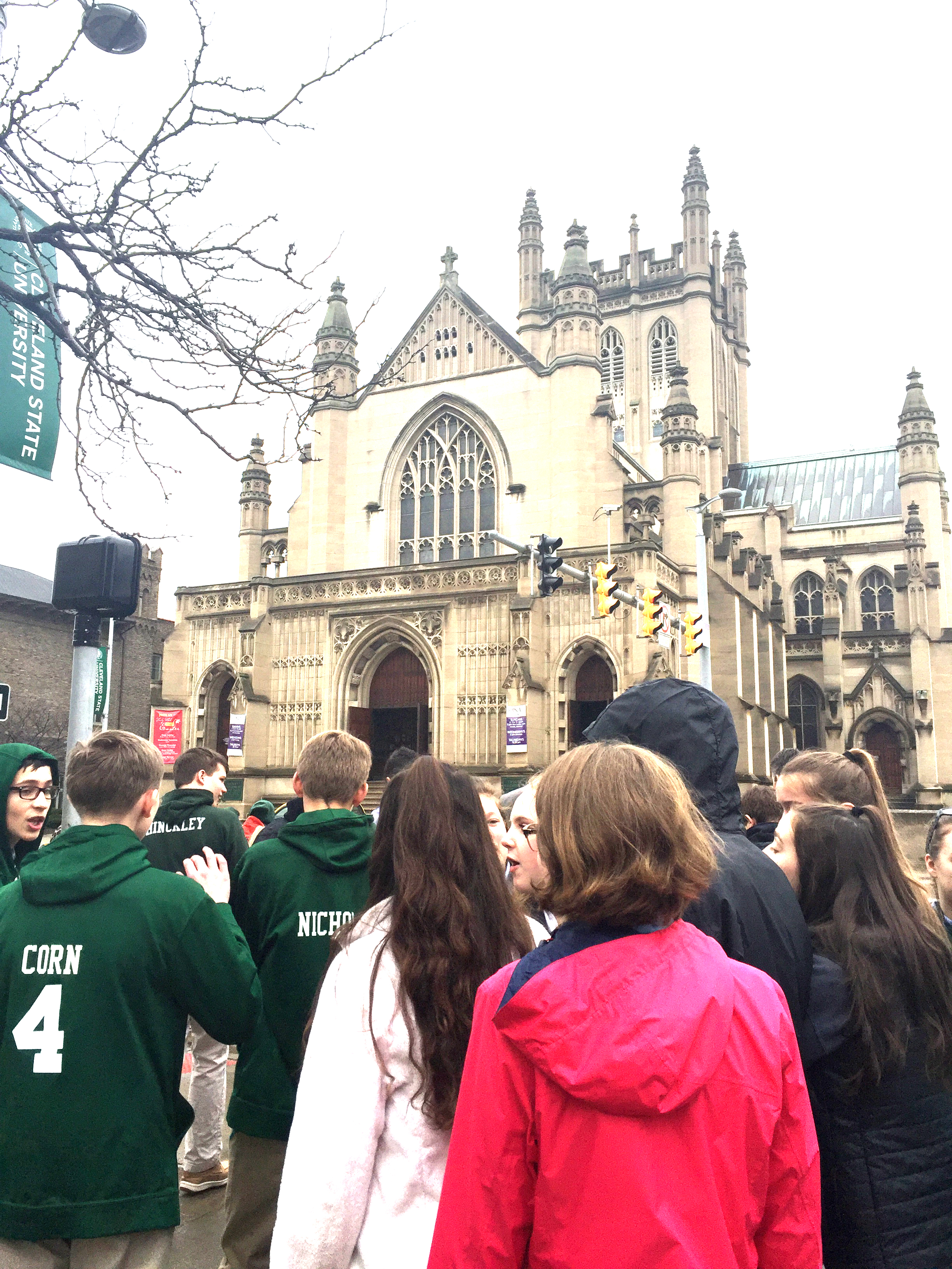 Trinity Catherdral - Upper School Field Trip