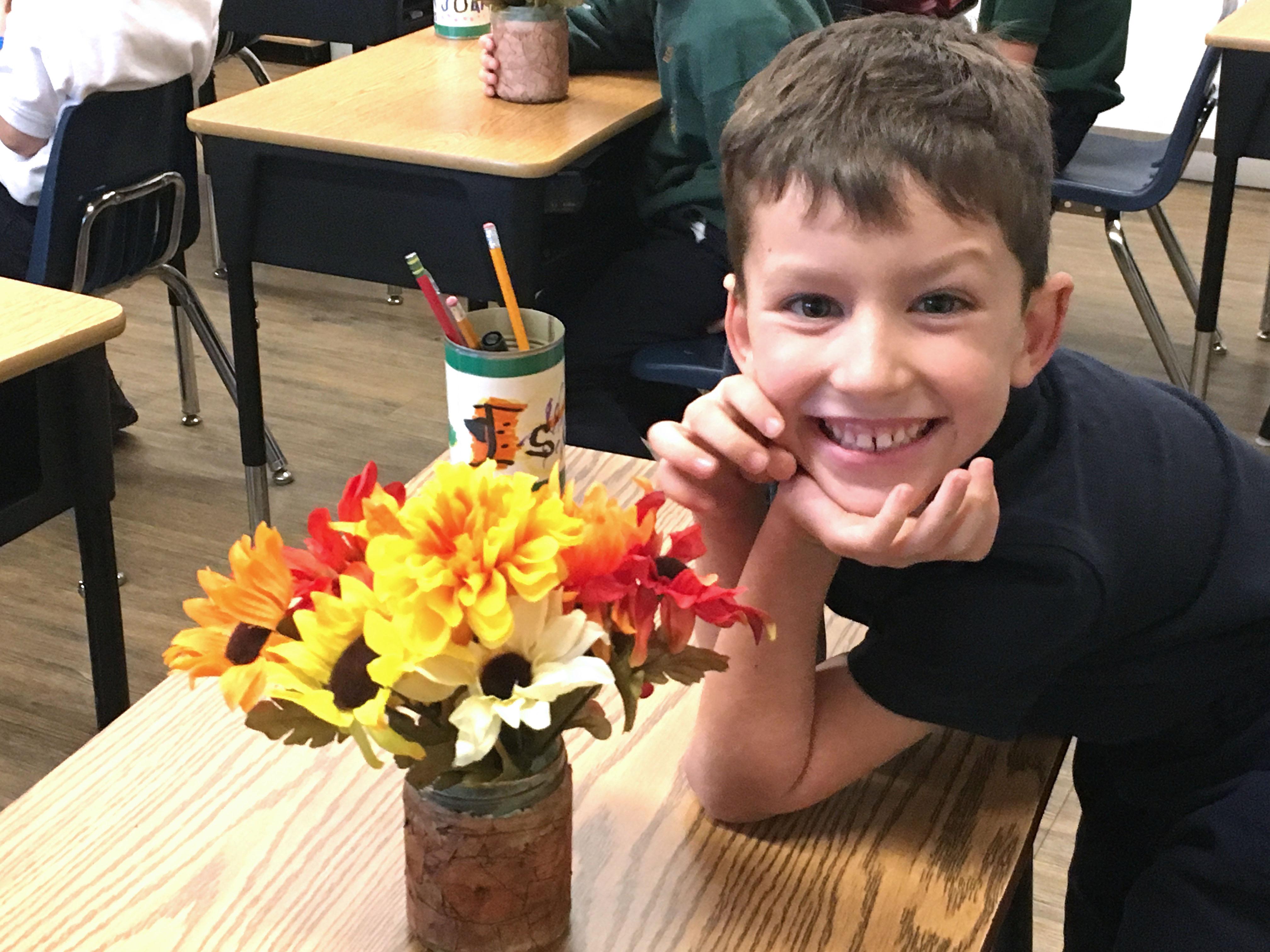 First Grade Fall Bouquet