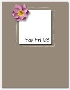Fab Fri 68