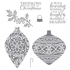 Embellished Ornaments Stamp Set