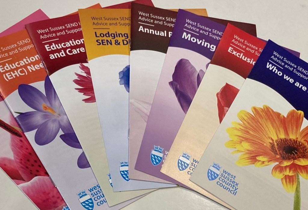 link to SENDIAS leaflets page