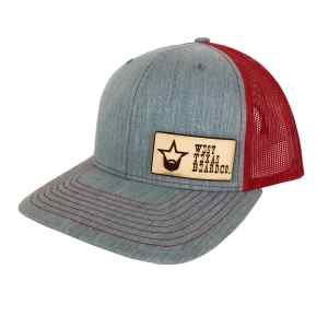 patch red cap side