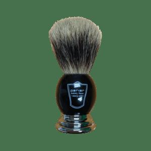 shave brush black handle