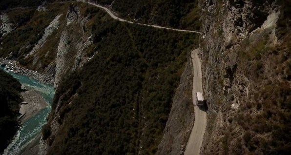 Skippers Canyon Road, New Zealand–