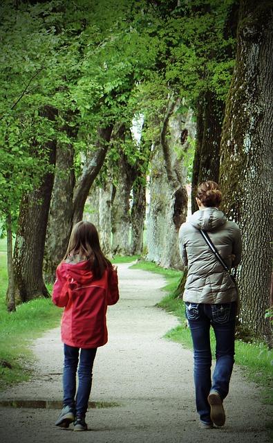 intergenerational walking